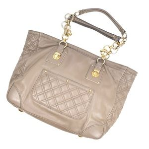 Marc Jacobs   Taupe Genuine Leather Quilted